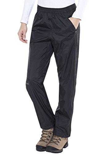 Marmot 46260-001-2 Pantalón con Cremallera, Mujer, Negro, XS