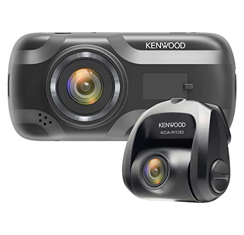 Kenwood DRV-A501W Wide Quad HD Dash Cam & KCA-R100 Rear View Camera Bundl