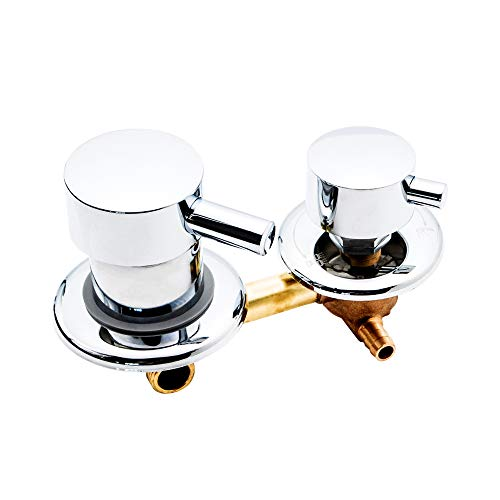 C/H Interruptores de Ducha 2/3/4/5 Vías Control Latón para Cuarto Ducha, Grifo...