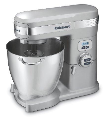Cuisinart 7-Quart 12-Speed Stand Mixer, Brushed Chrome