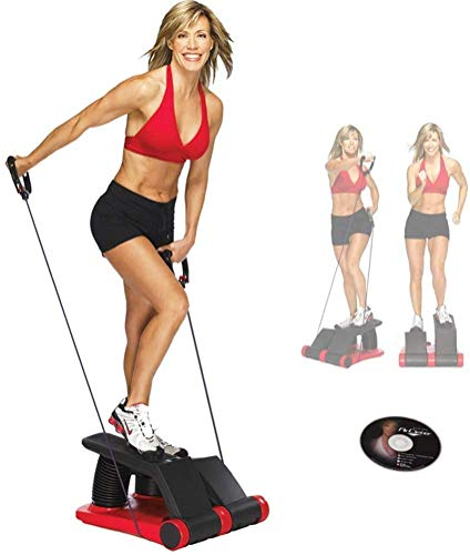 Huishoudelijke Air Stepper, Gratis Installatie van kleine compacte hometrainer, Training Rope Stepper met draagbare LED display