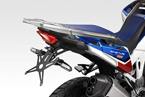 CRF 1100 Africa Twin - Standard und Adventure Sports 2020 - Kit Kennzeichenhalter (R-0931) - inkl. Hardware-Bolzen - Motorradzubehör De Pretto Moto (DPM Race) - 100% Made in Italy