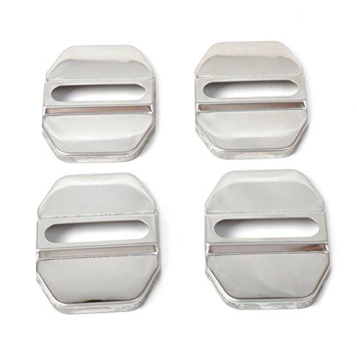 4 Stück Auto Türstopper Deckel Verschluss Gürtelschnalle Schutzfolie für Mercedes-Benz B C E GLK ML SLK Klasse