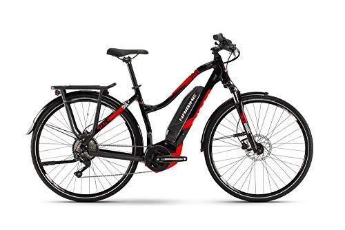 HAIBIKE Sduro Trekking 2.0 Damen Pedelec E-Bike Fahrrad schwarz/rot 2019: Größe: M