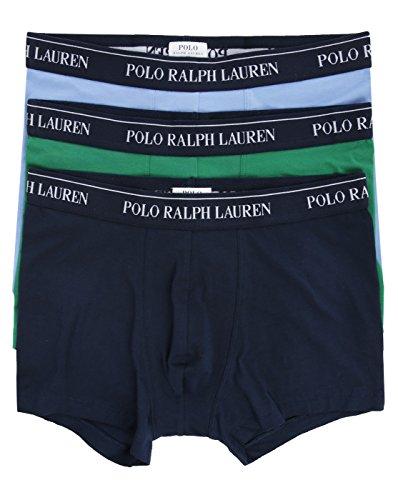 Ralph Lauren Ondergoed - Boxer Shorts - Heren - 3-pack groen blauw marine boxers voor mannen