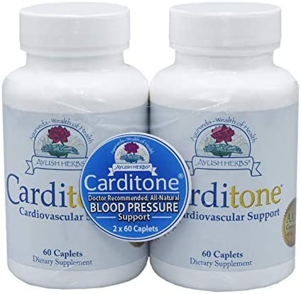 Ayush Herbs - Carditone 60 caplets (Pack of 2) product image