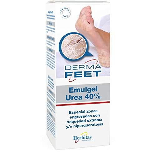 CREMA UREA PIES 40% 60 ml. DERMAFEET (Pies extremadamente secos) Incluye Guia para el Cuidado del pie GRATIS