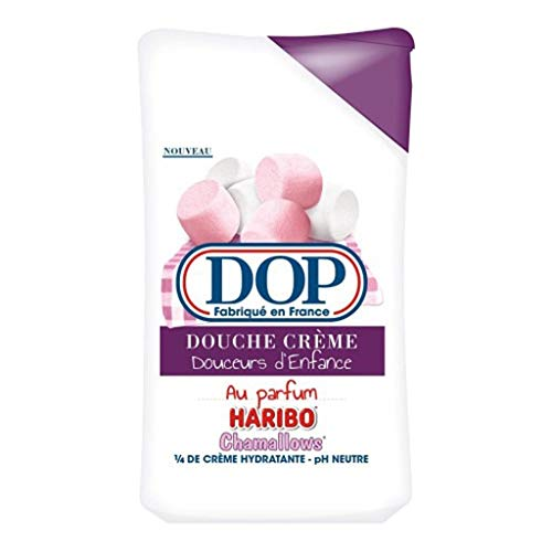 DOP Pack Dop Shower Cream Delights Dâ € ™ Kindheit von Parfums Haribo Marshmallows 250ml (4 Stück) 1