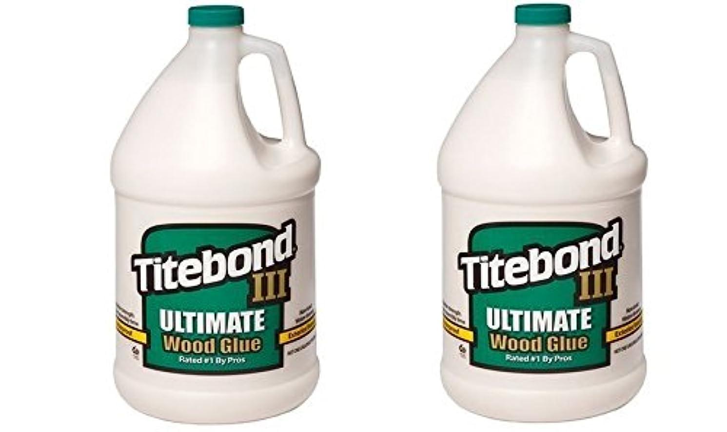 Franklin International 1416 Titebond-3 Ultimate Wood Glue, 1-Gallon (2 PACK)