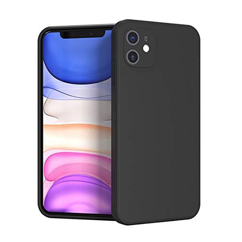duoying Funda de silicona compatible con iPhone 12 mini de 5.4 pulgadas, gel de goma de cuerpo completo a prueba de golpes con forro de microfibra para iPhone 12 mini 5.4 pulgadas