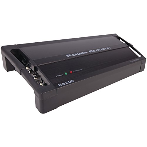Power Acoustik RZ1-3500D 3500W Class D Monoblock Amplifier, Black