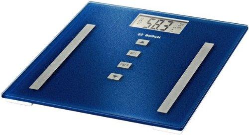 Bosch PPW3320, Azul, Plata, 300 x 300 x 21 mm, Litio-Ion, Vidrio - Báscula de baño