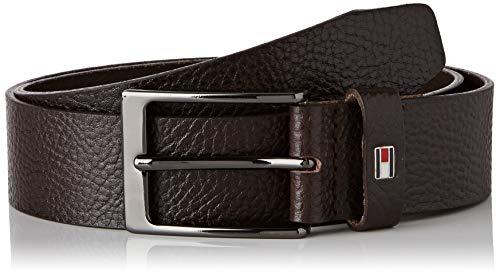 Tommy Hilfiger Layton Pebble Leather 3.5 Cintura, Marrone (Brown 0Hd), (Taglia Produttore: 115) Uomo