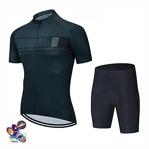 OUGEA Ropa de Ciclismo Verano Bermudas Tirantes Monos bicis de montaña Bicicletas Camisetas de ciclismo-06_M