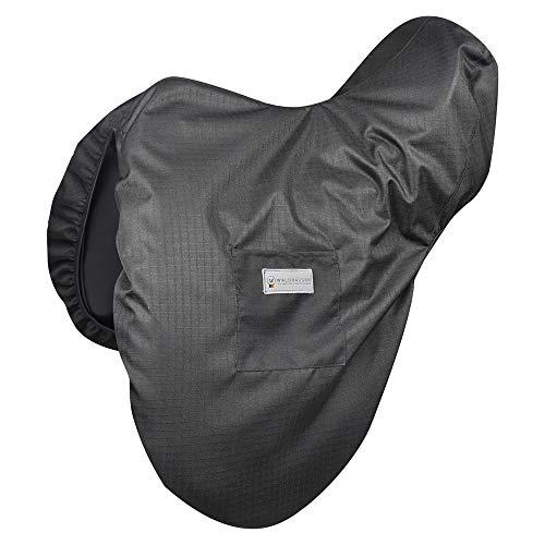 Sattelschutzbezug, Fleece, schwarz