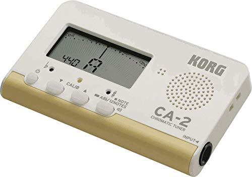 Afinador digital cromático Korg CA-2 para instrumentos de cuerda e instrumentos de viento