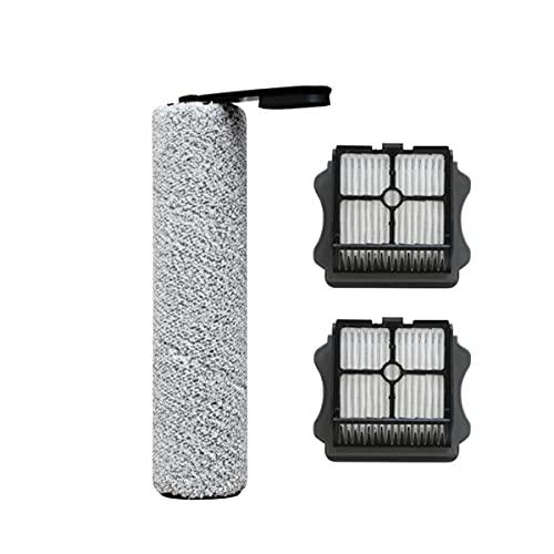 ZRF 1 rollo de cepillo, 2 filtros para aspiradora Tineco inalámbrico mojado/seco piso 2.0 LED/LCD