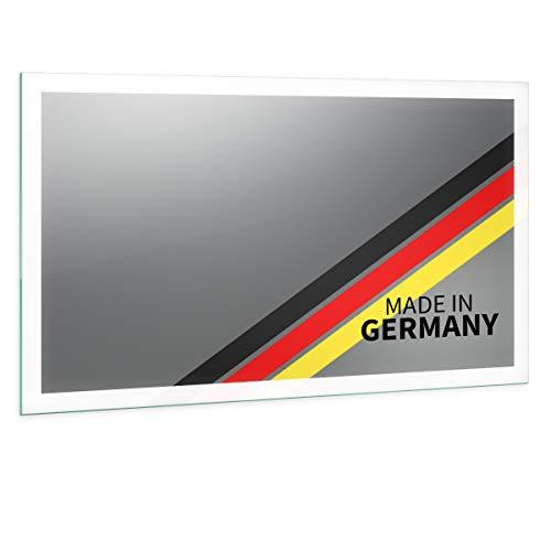 Spiegel ID Noemi21 rundum Design: LED BADSPIEGEL mit Beleuchtung - Made in Germany - individuell nach Maß - Auswahl: Breite 150 x Höhe 70 cm - warmweiß