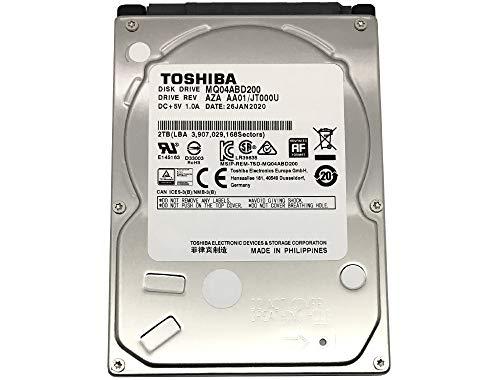 Toshiba 2TB 5400RPM 128MB Cache SATA 6.0Gb/s 2.5inch PS4 Gaming Hard Drive - 3 Year Warranty