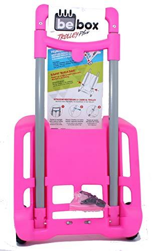 Trolley Pieghevole Plus Be Box Fucsia Seven