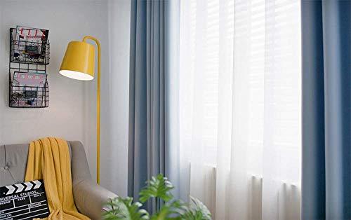 JHKGY Curtain panelen met volledige schaduw, noise blokkering out verduisteringsgordijnen voor eetkamer ramen, thermische geïsoleerde logeerkamer bekleed window dressing