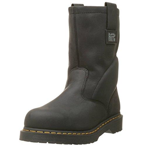 Dr. Martens, Men's Icon 2295 Steel Toe Heavy Industry Boots, Black, 11 M US
