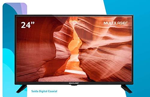 """TV Monitor24"""" HD, Multilaser, TL016"""