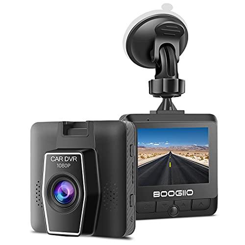 "Cámara de Coche Grabadora Dash CAM 1080P Full HD,2.4 ""Pantalla IPS,G-Sensor,Monitor de Aparcamiento,Grabación en Bucle,Fácil instalación,Guardar Evidencia de Video"
