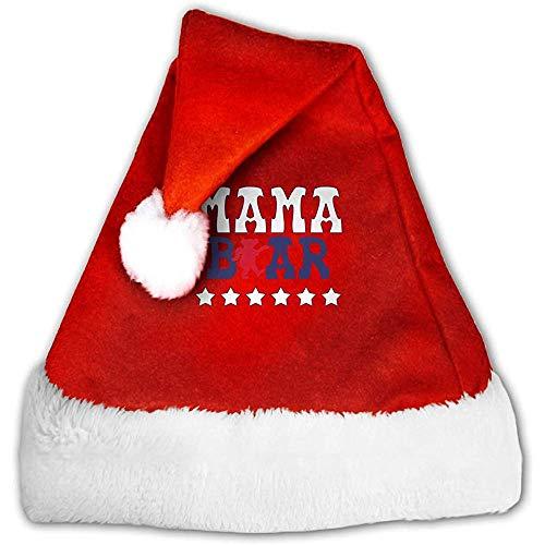 Kenice Sombreros De Santa,Rojo Y Blanco Gorro Navideño,Gorro Navideño De Santa,Mamá Oso Gorro De Papá...