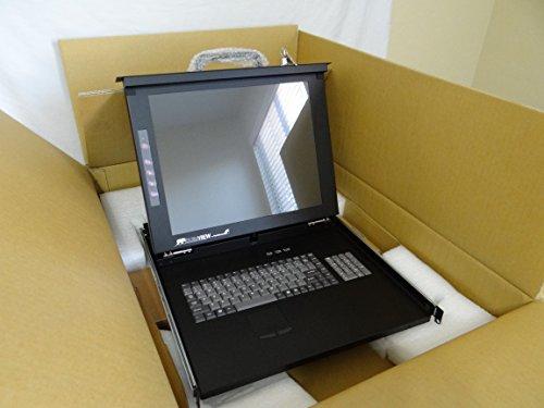 Startech controla hasta 8 servidores o conmutadores Kvm con esta consola LCD...
