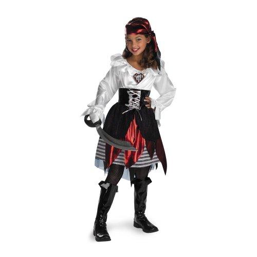 Pirate Lass Costume - Medium (7-8)