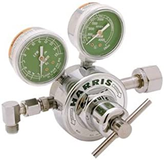 Harris 25-2C T50P-326 Pressure Regulator, 50 PSIG, Nitrous Oxide