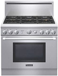 Thermador Pro Harmony : PRG366GH 36 Pro-Style Gas Range with 5.0 cu. ft. Convection Oven