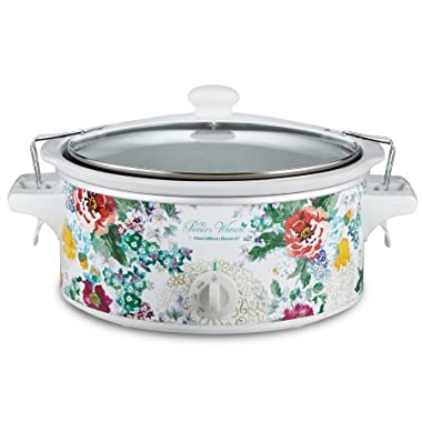The Pioneer Woman 6 QT Country Garden Portable Slow Cooker with Sealed Lid