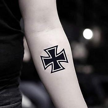 iron cross tattoo