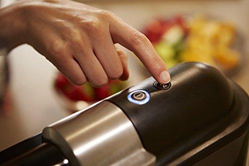 Philips Estrattori Microjuicer HR1894/80 Estrattore di Succo con Tecnologia Micro Masticating per Cogliere Tutta la Polpa di Frutta e Verdura, Plastica, Bianco