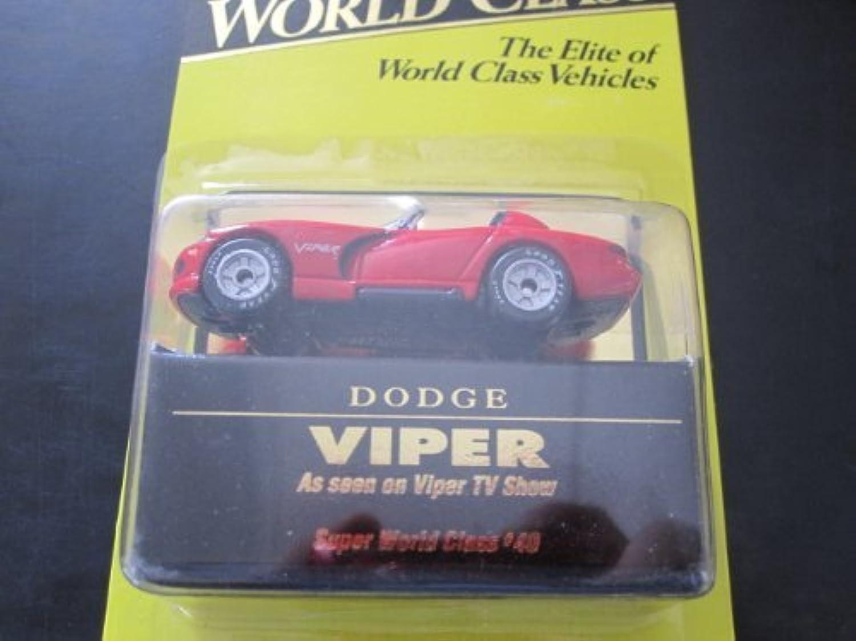 Dodge Viper Matchbox Super World Class Series 1993  40 by Matchbox