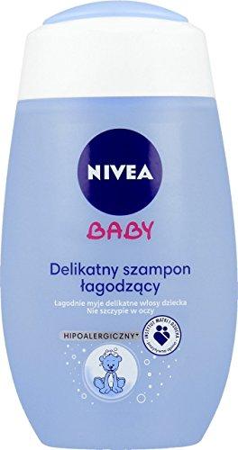 Nivea Baby Sanft Beruhigende Shampoo Hypoallergen für Baby Kinder 200ml