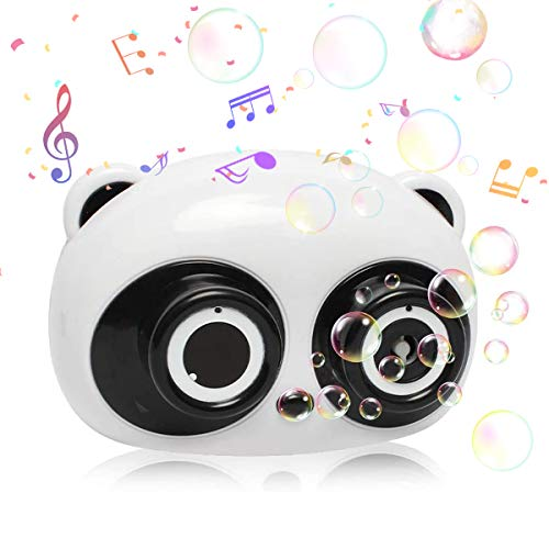 IVriel Bubble Machine Toy for Kids, Panda Bubble Blower Blaster for Boys...