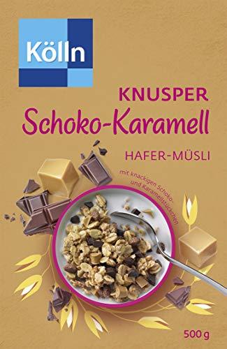 Kölln Müsli Knusper Schoko-Karamell, 7er Pack (7 x 500 g)