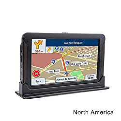 Alexsixs 7 Touchscreen Car GPS Navigation System 8GB Voice Prompt Driving Alarm Built-in Lifetime Maps