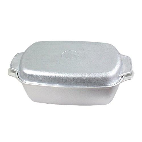 Gegoten aluminium ganzenbraadslede 5,5 l