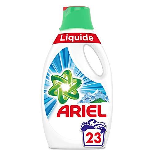 Ariel Alpine lavandería líquido 1,265L 23lavados)–Lote de 2