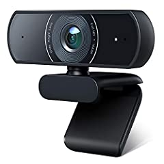 FULL HD 1080P VIDEO QUALITY - The webcam is capable of full HD 1080P video quality at 30 frames per second, offering you the extremely clear widescreen video with a sharp image. Equipped with low light correction, it can record bright and high-contra...