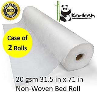 disposable bed sheet roll
