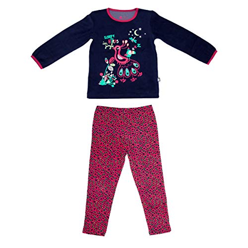 Petit Béguin - Pyjama fille manches longues City Garden - Taille - 6/8 ans