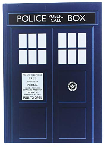 Underground Toys Doctor Who Journal - Large Dr. Who Tardis Diary - 6' x 8.5' Notebook