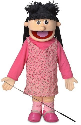 """Peach Silly Puppets Pirate 25/"""" Full Body Puppet"""