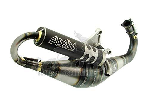 POLINI Big Evo 70 83 - Marmitta per Yamaha Aerox MBK Nitro Mach G Aprilia SR Malaguti