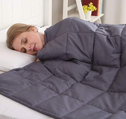 Amy Garden All-Seasons Weighted Blanket - 15 Pounds
